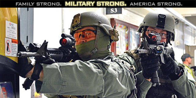 Military Strong.
